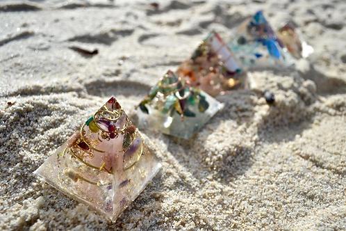 Andara Crystal Pyramid  (Medium)
