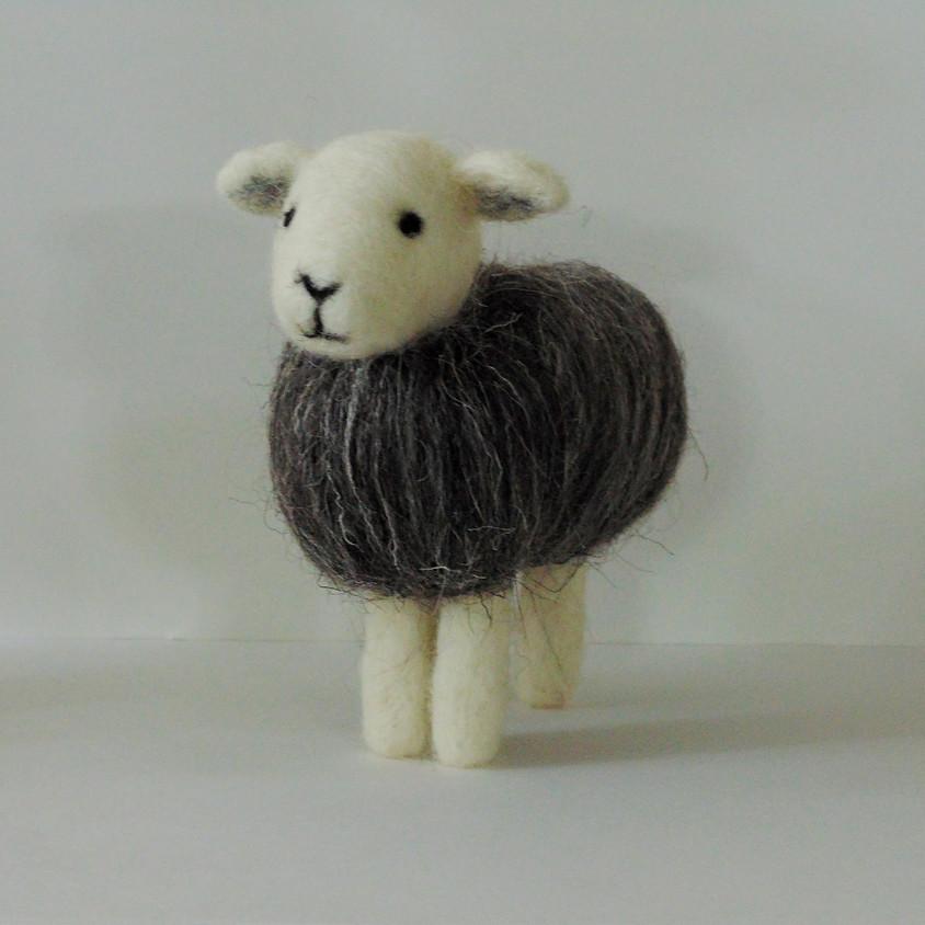 NEEDLE FELTED HERDWICK SHEEP
