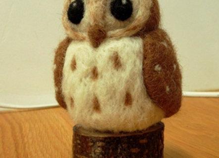 OWL FELTING KIT