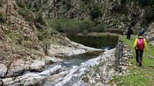 """Trekking """"Via dell'Argento"""", tratto nord."""