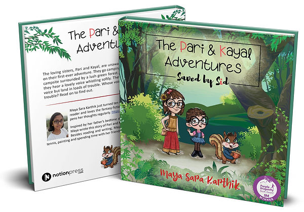 The Pari and Kayal Adventures - Mockup (