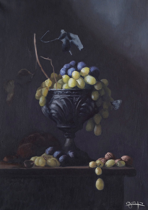 Grapes By Ben Fried