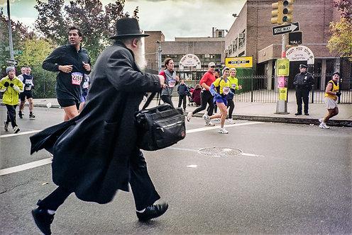 New York, Marathon #4  By Jacob Elbaz