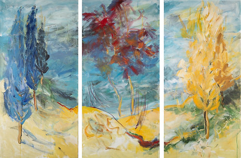 Primary Colors (triptych)