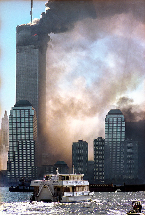 New York, 9 / 11,The Disaster #14  By Jacob Elbaz