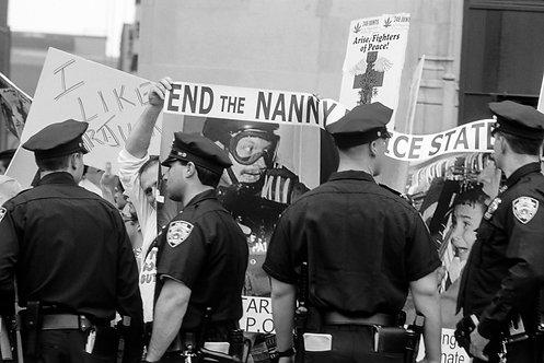 New York, Protest #9  By Jacob Elbaz