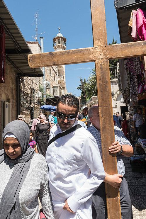 Jerusalem, Via Dolorosa #3  By Jacob Elbaz