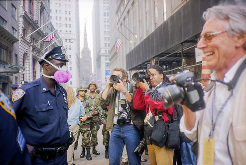 New York, 9 / 11,The Disaster #43  By Jacob Elbaz