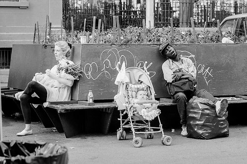 New York, Poverty #6  By Jacob Elbaz