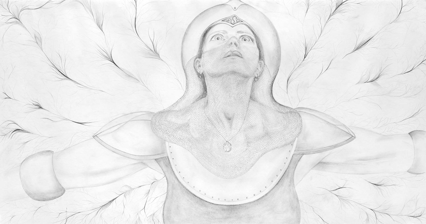 Under armored wings #7 By Nurit Barak kachtan