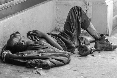 New York, Poverty #4  By Jacob Elbaz