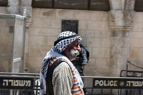 Jerusalem, Arabs #3  By Jacob Elbaz