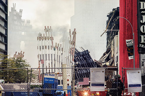 New York, 9 / 11,The Disaster #45  By Jacob Elbaz