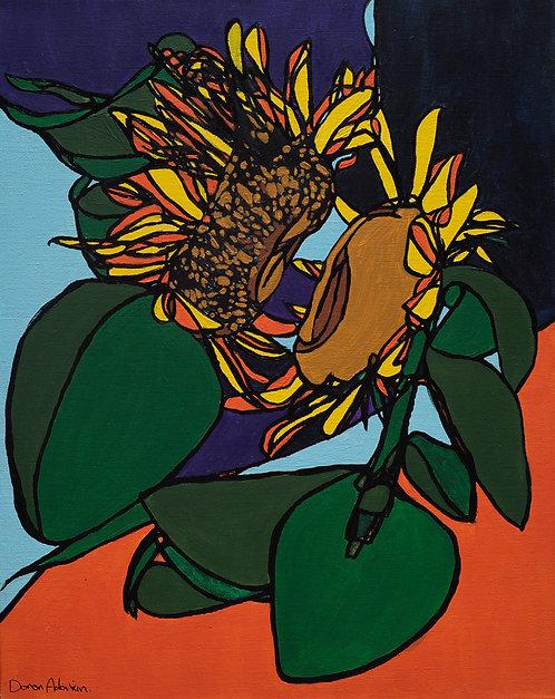 Sunflower By Doron Adorian