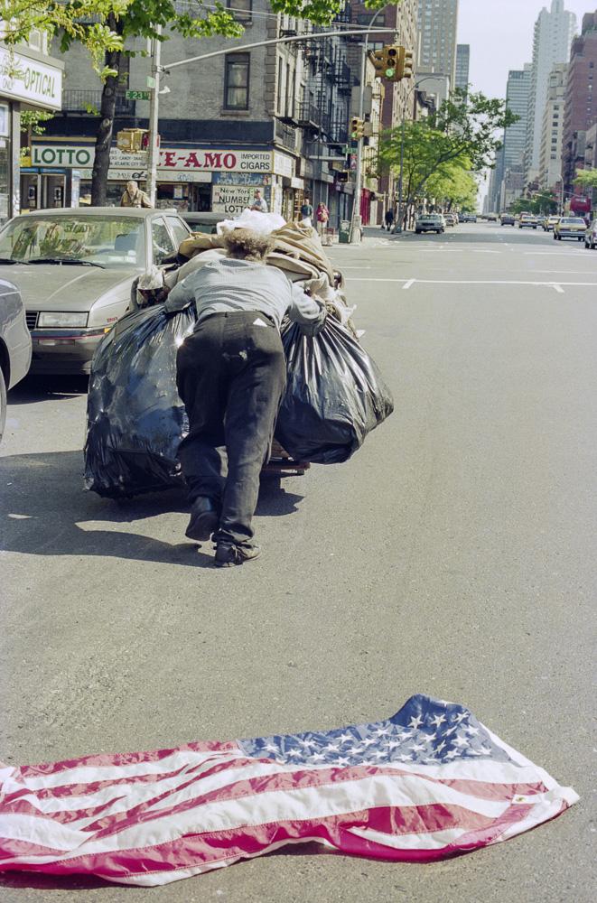 New York, Poverty #2  By Jacob Elbaz