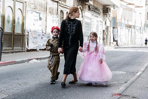 Jerusalem, Purim #1  By Jacob Elbaz