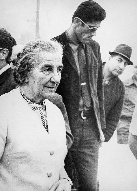Israel, Golda Meir #2  By Jacob Elbaz