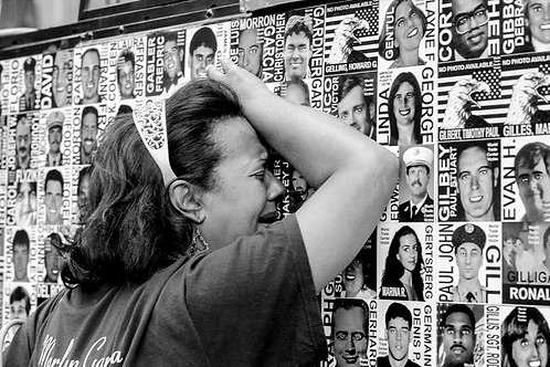 New York, 9 / 11,The Missing #33  By Jacob Elbaz