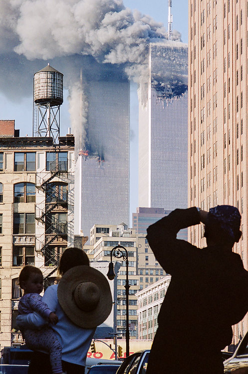 New York, 9 / 11,The Disaster #23  By Jacob Elbaz