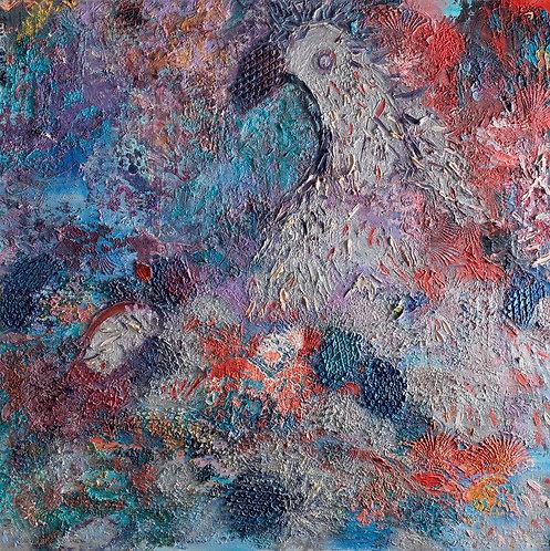 Silver eagel By Miri Eitan Sadeh