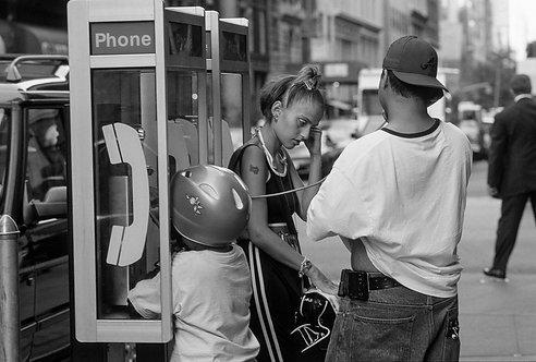 New York, Pay phone #3  By Jacob Elbaz