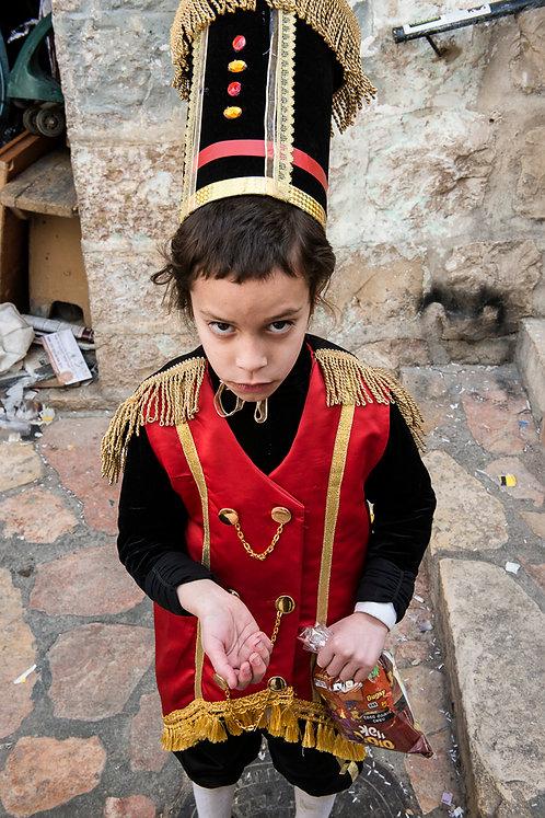 Jerusalem, Characters #60  By Jacob Elbaz