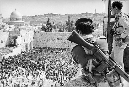 Jerusalem, Soldiers #4  By Jacob Elbaz
