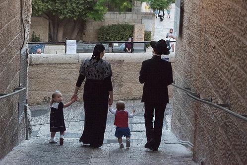 Jerusalem, Jewish Orthodox #14  By Jacob Elbaz