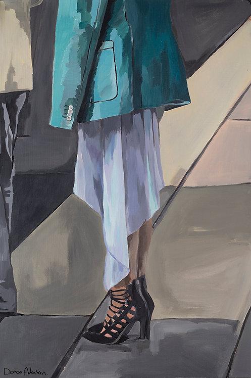 High heel by  Doron Adorian