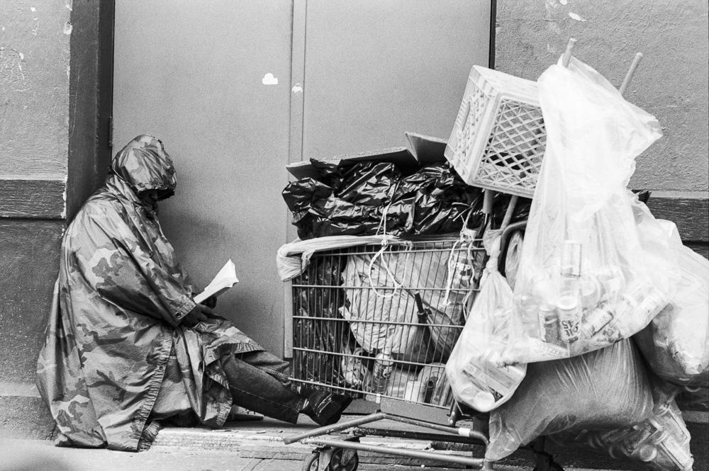 New York, Homeless #1  By Jacob Elbaz