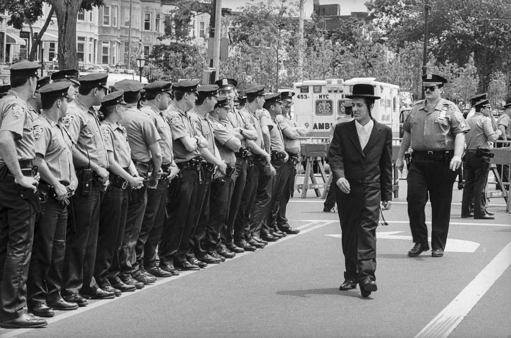 New York, An honor guard