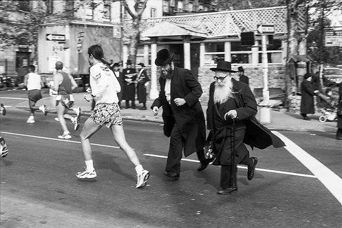 New York, Marathon #3  By Jacob Elbaz