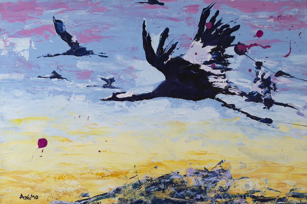 Migration by  Moshe Ben Avraham