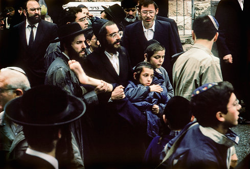 Jerusalem, Jewish Orthodox #16  By Jacob Elbaz