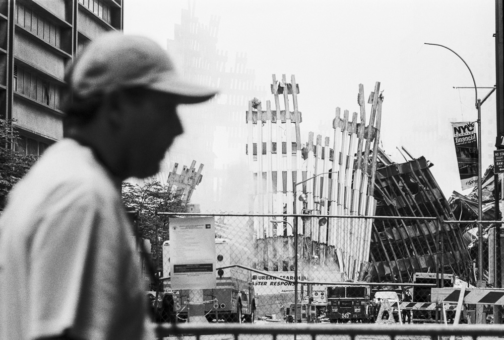New York, 9 / 11,The Disaster #25  By Jacob Elbaz
