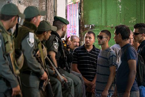 Jerusalem, Soldiers #3  By Jacob Elbaz