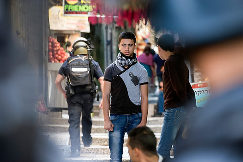 Jerusalem, Everyday life #135  By Jacob Elbaz