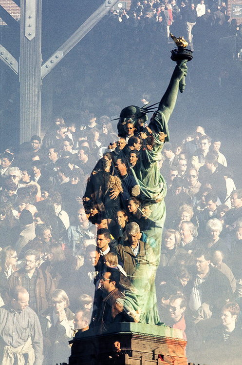 New York, Statue of Liberty #3  By Jacob Elbaz