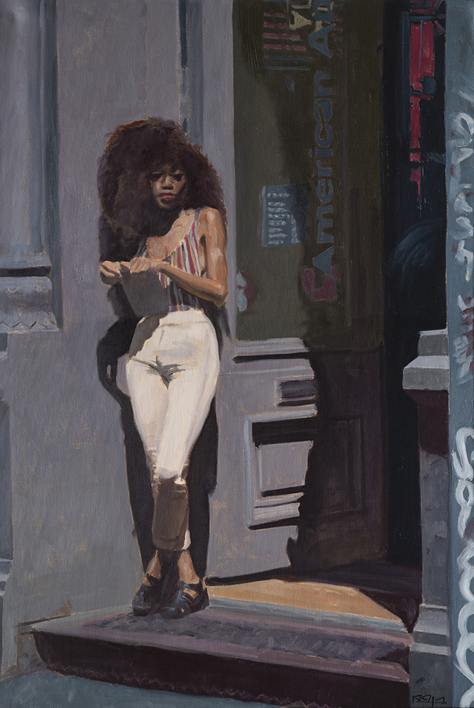 American Afro Manhatten by  Ben Fried