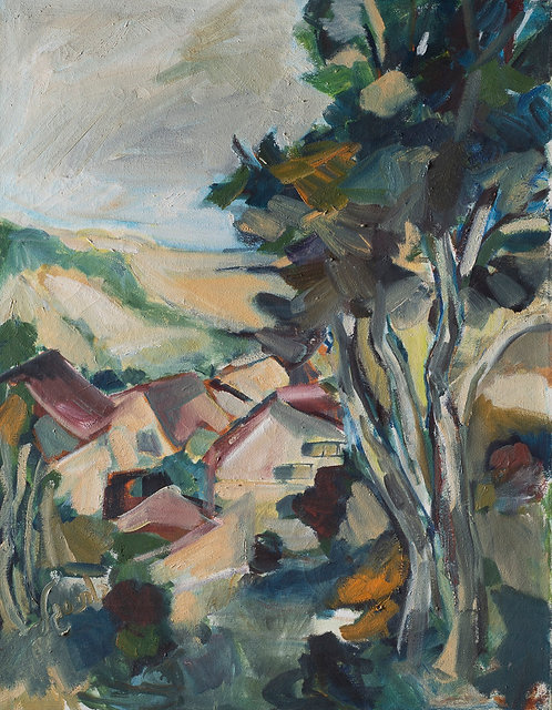 View to the sea By Ruthy Segal