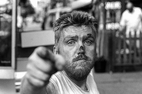 New York, Faces #39  By Jacob Elbaz