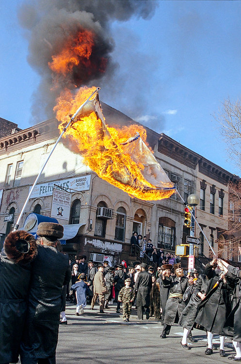 New York, Burning of the Israeli flag #8