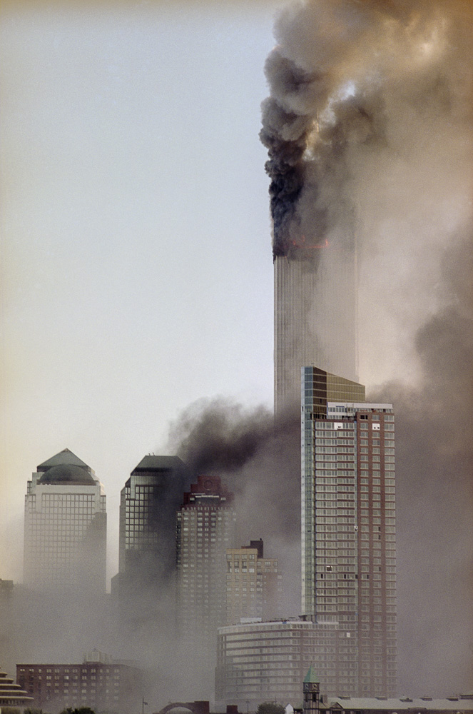New York, 9 / 11,The Disaster #21  By Jacob Elbaz
