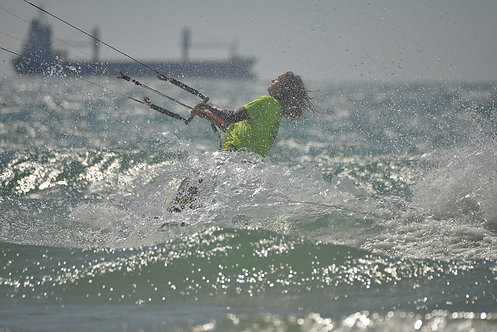 Surfing competition in Ashdod
