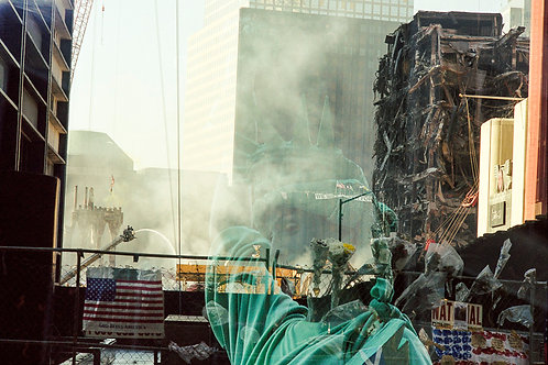 New York, 9 / 11,The Disaster #4  By Jacob Elbaz