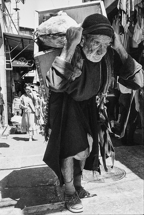 Jerusalem, Characters #74  By Jacob Elbaz