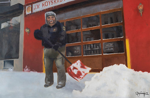 Winter by  Ben Fried