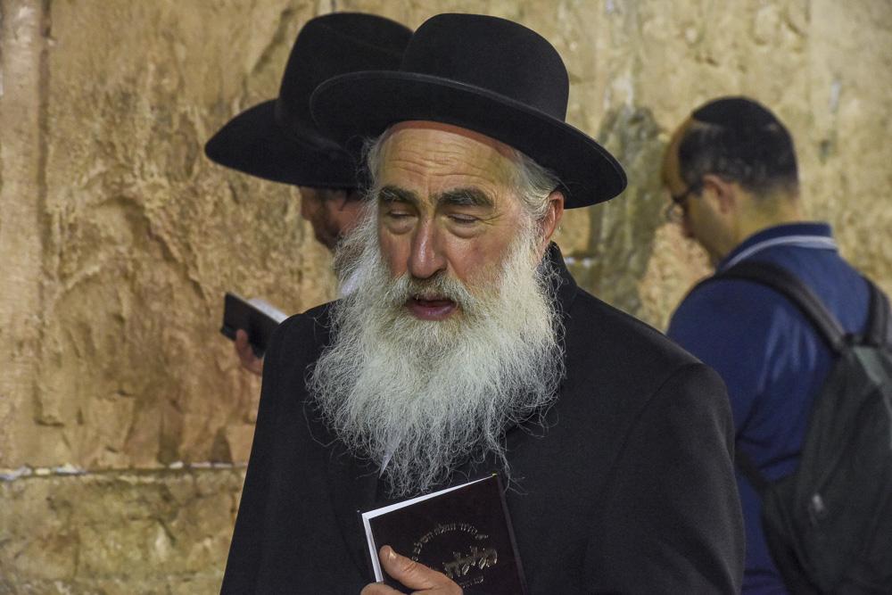 Jerusalem, Faces #3  By Jacob Elbaz