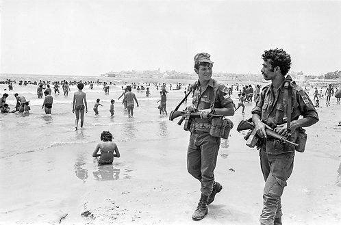 Israel, On the beach  By Jacob Elbaz