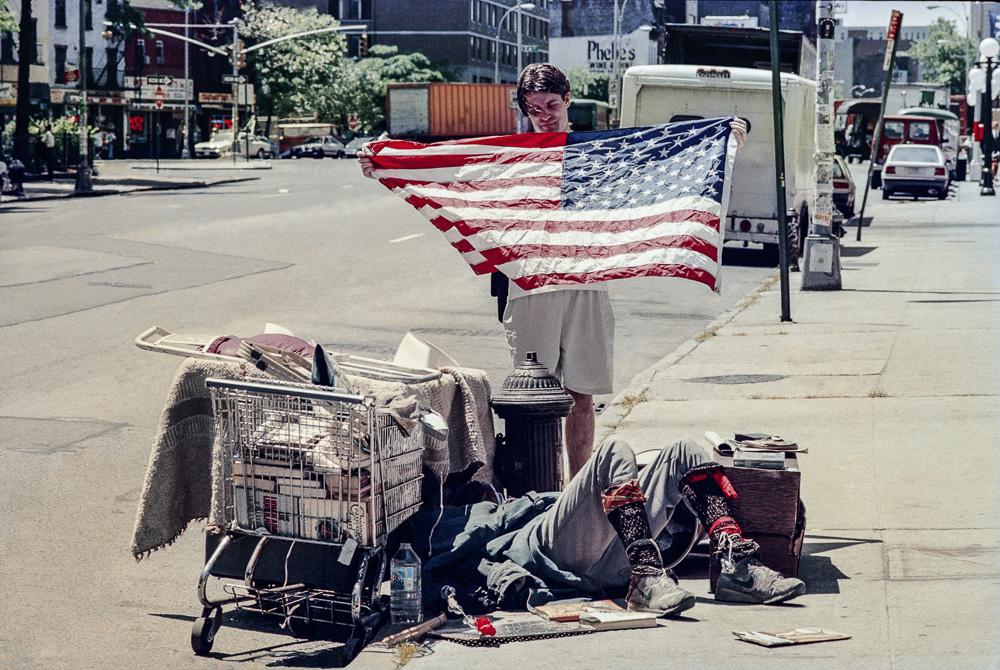 New York, Homeless #6  By Jacob Elbaz